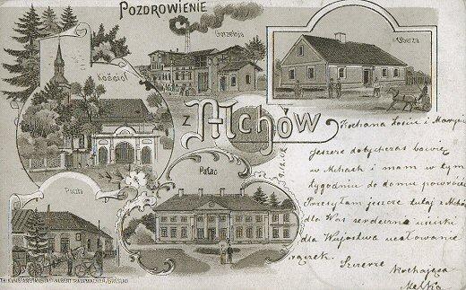 Lit., Mchy, druk Albert Rademacher, Breslau, przed 1902. Zbiory KB
