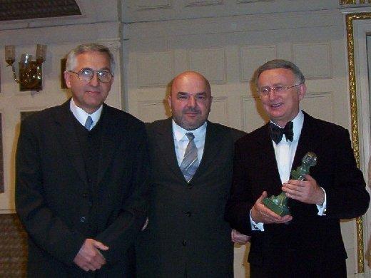 Ryszard Zawadzki, Krzysztof Budzyń, prof. Tadeusz Maliński